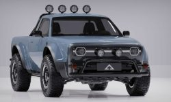 Alpha Wolf pickup truck with the largest power reserve