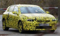 The next-generation Opel Astra was first spotted on tests. Photos