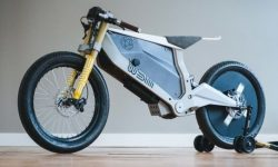 Walt Siegel: electric motocrossover PACT