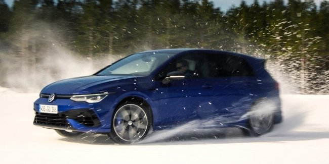 All-wheel-drive Golf R: Demonstration of Opportunities