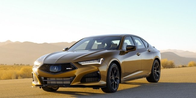 Acura TLX Type S: soon in showrooms
