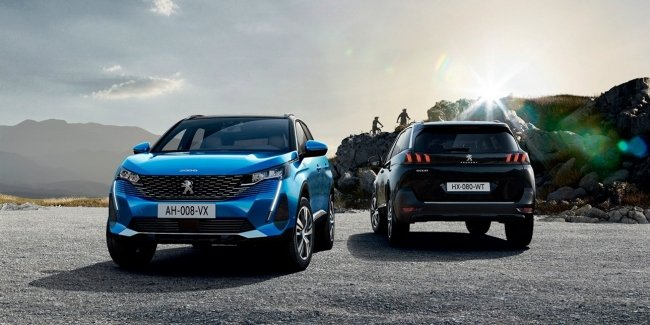 3008 and 5008 for travel: two new versions of crossovers are presented in Europe