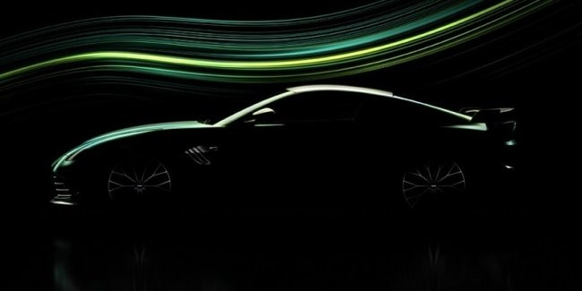 Aston Martin shares first image of powerful Vantage