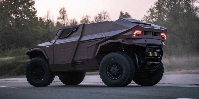 Arquus Scarabee: the best SUV for the army?