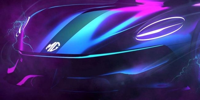 Cyberster: electric supercar from MG