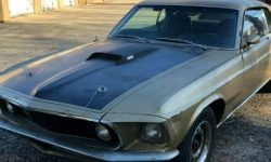 Ford Mustang Mach 1: 40 years of downtime, and works like a clock