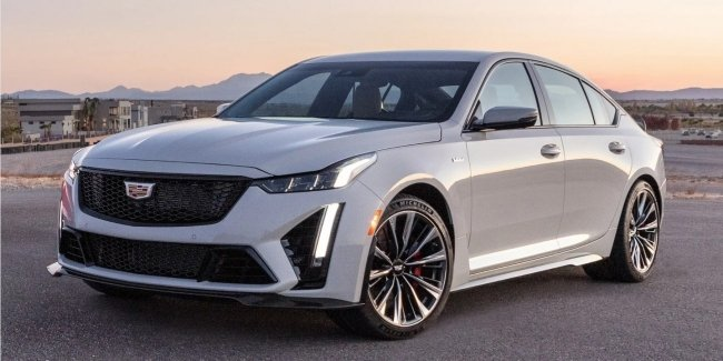 Cadillac CT5-V Blackwing engines will be assembled by hand
