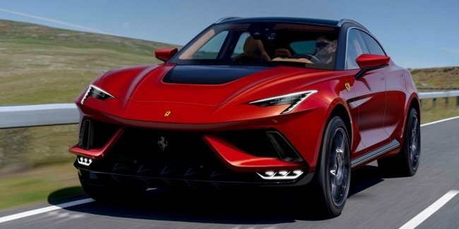Ferrari's first crossover revealed in photo