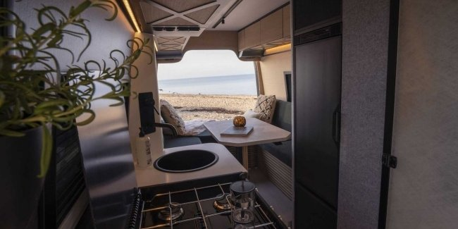 Grill and minibar. What else do you need on the road?
