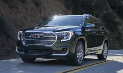 On the brand new GMC Terrain immediately on off-road