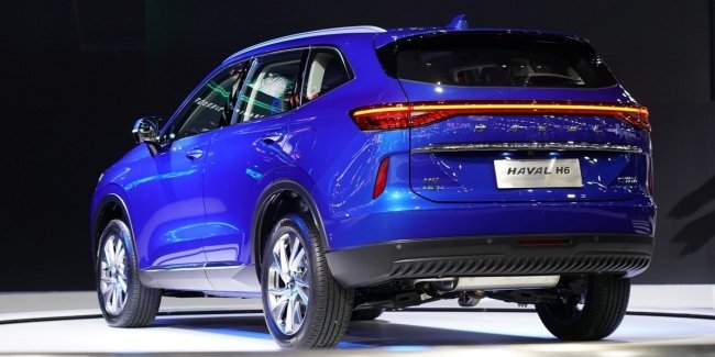New version of Haval H6: 530 Nm with petrol 1.5?