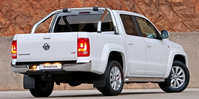 Another image of the new VW Amarok