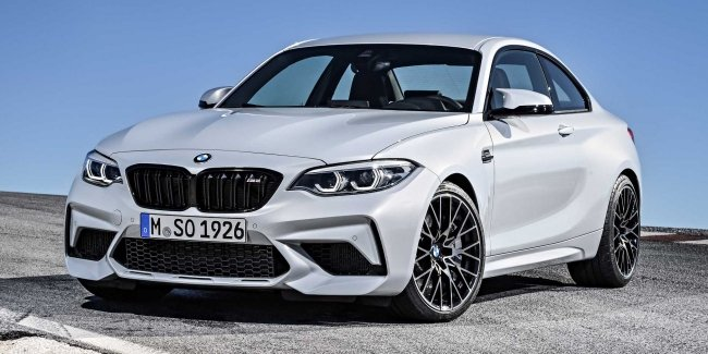 The new M2 Coupe has left on the roads