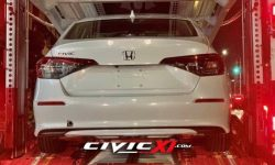 And here again… New Honda Civic caught by photospies