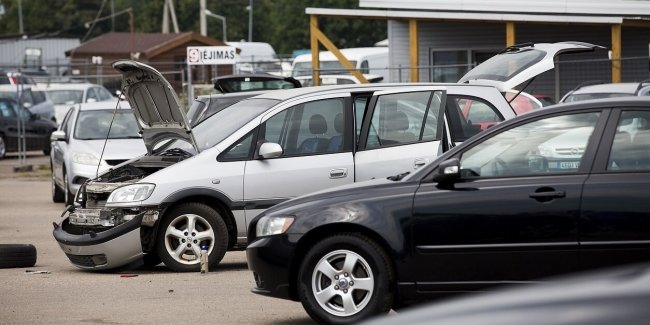 Coronavirus prevented the flow of used cars from Lithuania