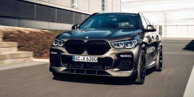 X6 by AC Schnitzer: weight and zero power increase