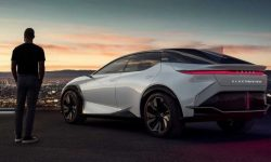 Lexus dreamed of electric car: it's fast but not real