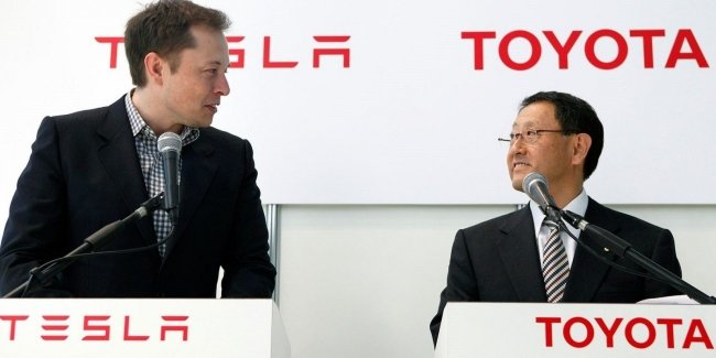 Tesla teams up with Toyota?