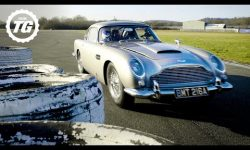 StigCam: Sideways in an Aston Martin DB5 Bond Stunt Car