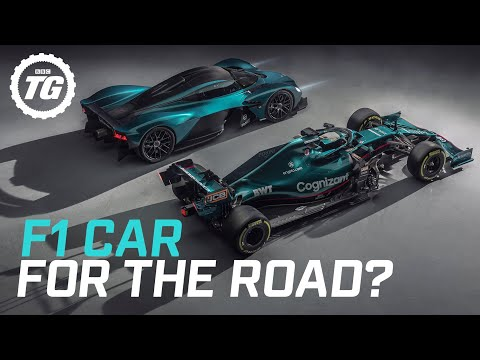 Is the Aston Martin Valkyrie really an F1 car for the road?
