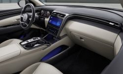 First photos of the cabin, the first Hyundai pickup truck