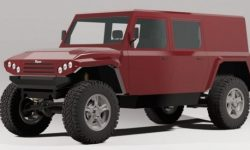 Munro: electric Hummer from Scotland