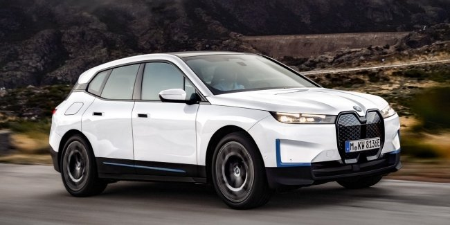 """Electric BMW iX will receive 560 forces and the letter """"M"""""""