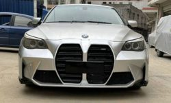 "Be on trend: body kit for BMW E60 with huge ""nostrils"""