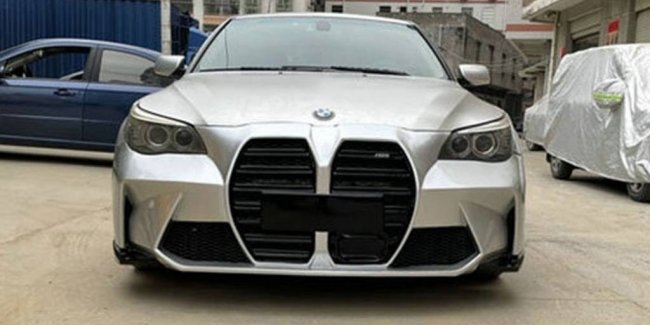 """Be on trend: body kit for BMW E60 with huge """"nostrils"""""""