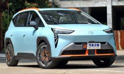 Aion Y electric crossover: 600 km for 19,600 euros