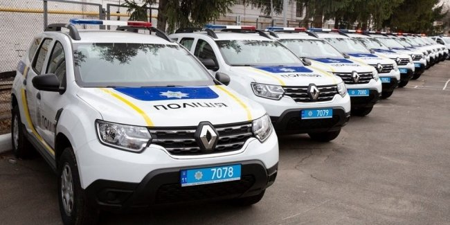 56.5 million hryvnias for Dusters: National Police replenished the fleet