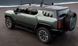The new GMC Hummer EV can turn into a charging station on its own