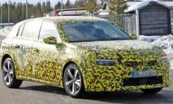 The brand-new Opel Astra is already on the roads