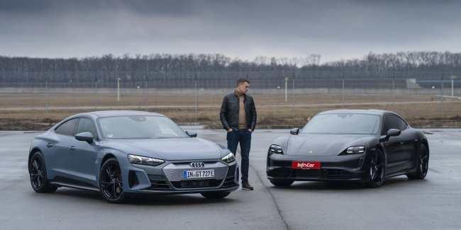 Audi e-tron GT: why do you need a Taycan?!