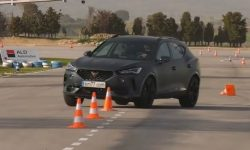 The first elk test Cupra Formentor V