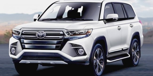 First images of Toyota Land Cruiser 300