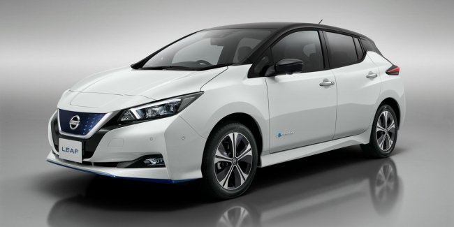 In Ukraine, the Nissan Leaf is sold