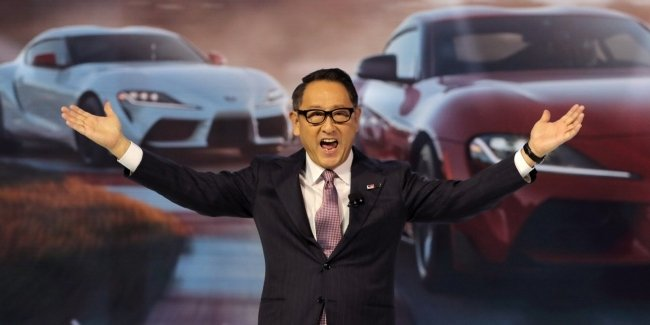 """Toyota's head has become the most """"humane"""" in the automotive industry"""