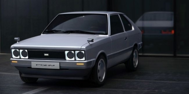 Hyundai has developed a retro concept in honor of its first car