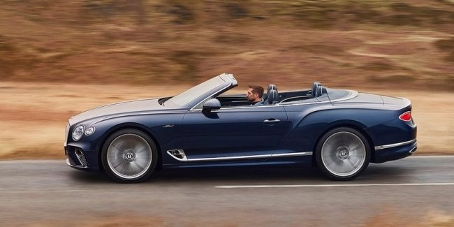 New Continental GT Speed 'ripped off' roof
