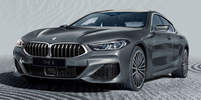 "BMW unveils ""Eight"" for collectors"