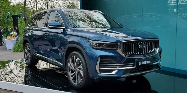 At last! Geely Xingyue L: Chinese Volvo unveiled officially