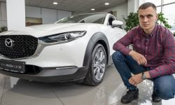 What does the base Mazda CX-30 look like and how much does the base Mazda CX-30 cost?