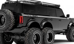Maxlider to build six-wheeled Ford Bronco