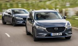 "Special ""Six"": Mazda prepares a special version of the sedan and station wagon"