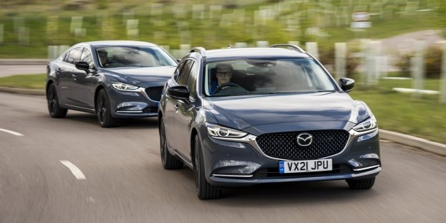 """Special """"Six"""": Mazda prepares a special version of the sedan and station wagon"""
