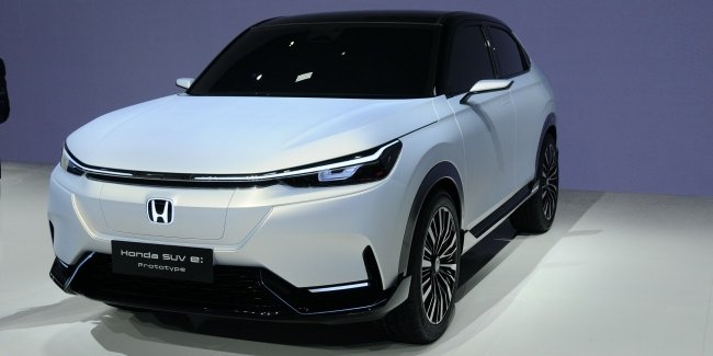 Honda showed off its first electric SUV