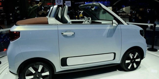 The most popular electric car turned into a convertible