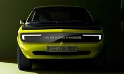 Opel Manta GSe: old-new electric car