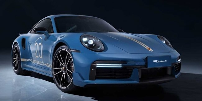 Porsche Celebrates 20th Anniversary in China with 911 Turbo S Anniversary Edition